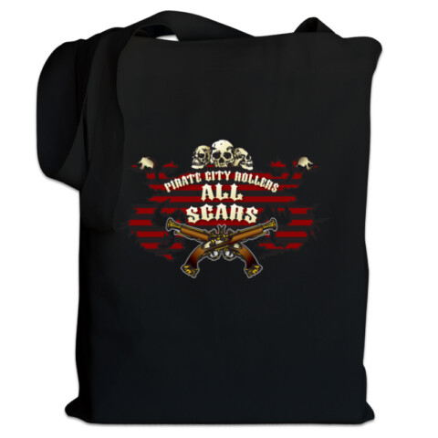 All Scars Tote - Pirate City Rollers