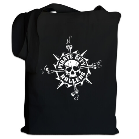 Compass Tote Bag - Pirate City Rollers